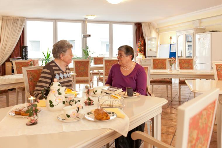 Cafeteria in der Altstadtresidenz Betreutes Wohnen Probsteder, Bad Griesbach