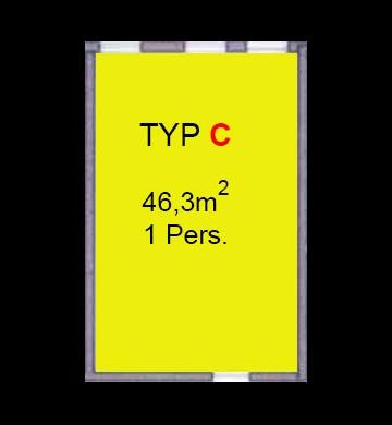 Grundrisse und Preise der Wohnungen - Typ C